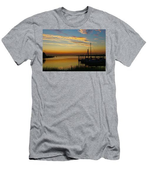 Dawn Over The Bay Men's T-Shirt (Athletic Fit)