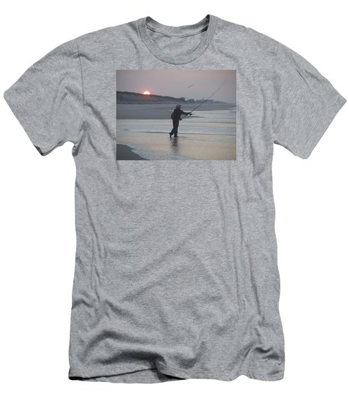 Men's T-Shirt (Slim Fit) featuring the photograph Dawn Patrol by Newwwman