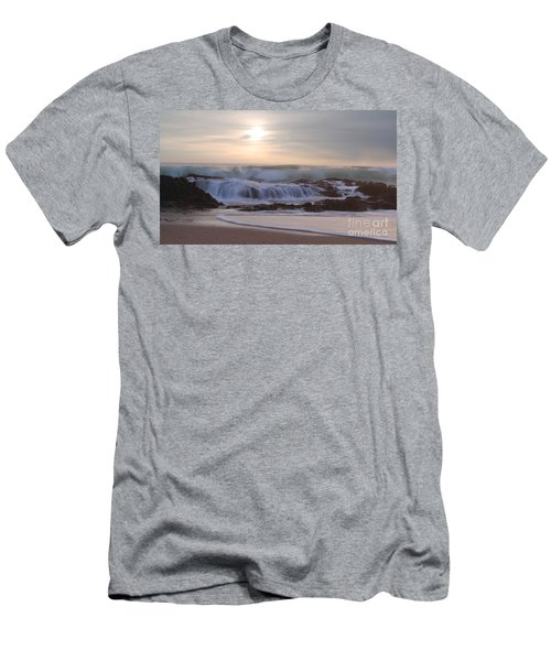 Day Break Paradise Men's T-Shirt (Athletic Fit)
