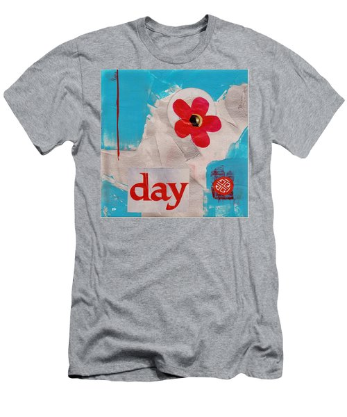 Day Men's T-Shirt (Slim Fit) by Patricia Cleasby