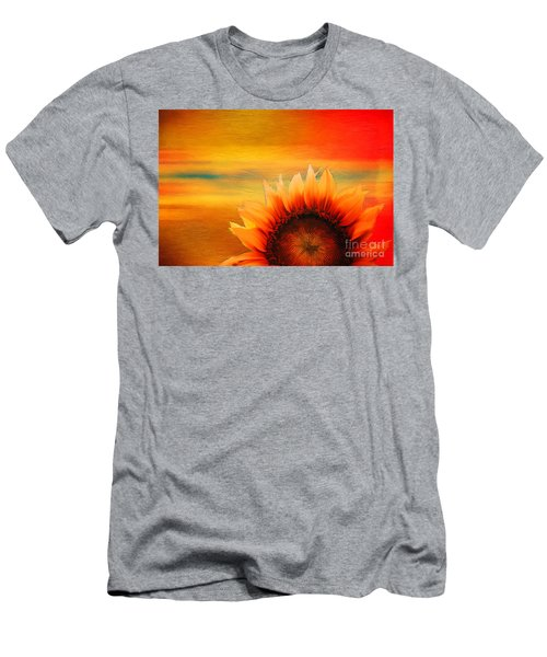Men's T-Shirt (Athletic Fit) featuring the digital art Daybreak 2017 by Kathryn Strick