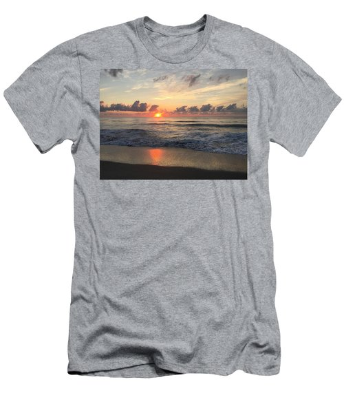 Daybreak At Cocoa Beach Men's T-Shirt (Athletic Fit)