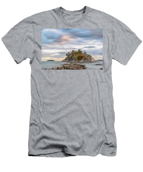 Days End At Whyte Island Men's T-Shirt (Athletic Fit)