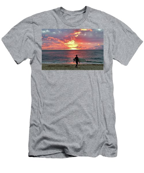 Day's End On The North Shore Men's T-Shirt (Athletic Fit)