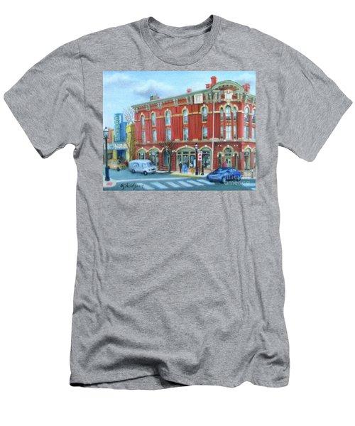 dDowntown Doylestown Men's T-Shirt (Slim Fit) by Oz Freedgood