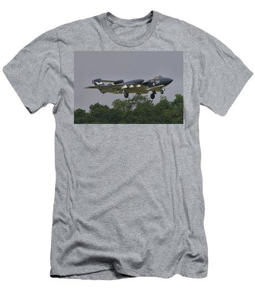 Men's T-Shirt (Slim Fit) featuring the photograph De Havilland Dh110 Sea Vixen  by Tim Beach
