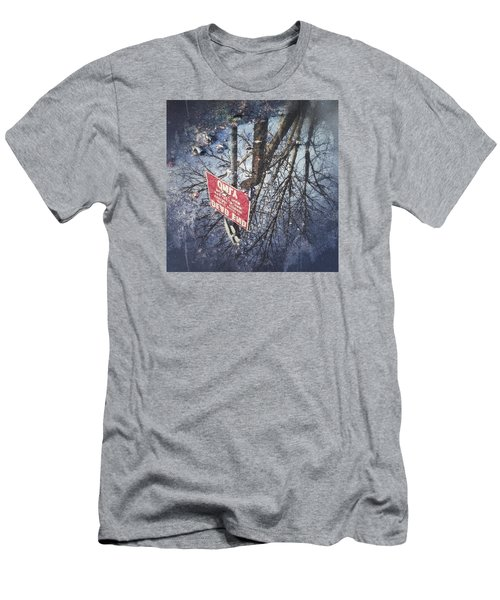Men's T-Shirt (Slim Fit) featuring the photograph Dead End by RKAB Works