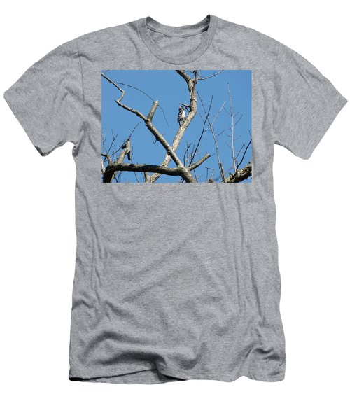 Men's T-Shirt (Slim Fit) featuring the photograph Dead Tree - Wildlife by Donald C Morgan
