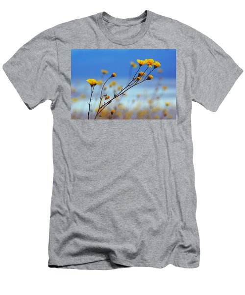 Death Valley Superbloom 502 Men's T-Shirt (Slim Fit) by Daniel Woodrum