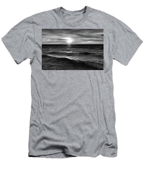 December 20-2016 Sunrise At Oro Station Bw  Men's T-Shirt (Athletic Fit)