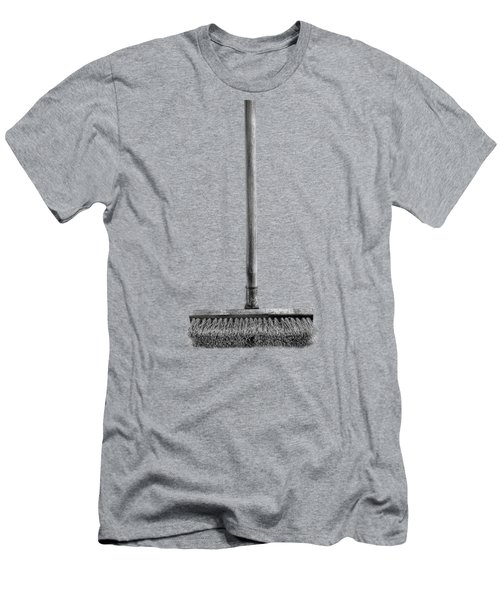 Deck Scrub Brush Men's T-Shirt (Athletic Fit)
