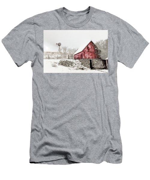 Decked In White Men's T-Shirt (Slim Fit) by Nicki McManus