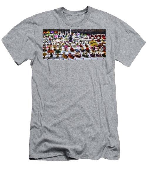 Decorative Cards Tourist  Men's T-Shirt (Athletic Fit)