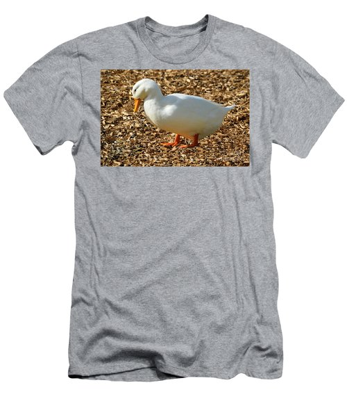 Decorative Duck Series A5717 Men's T-Shirt (Athletic Fit)