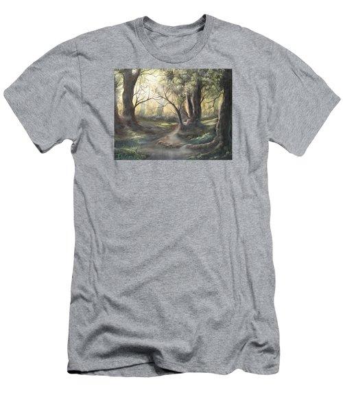 Deep Forest  Men's T-Shirt (Athletic Fit)