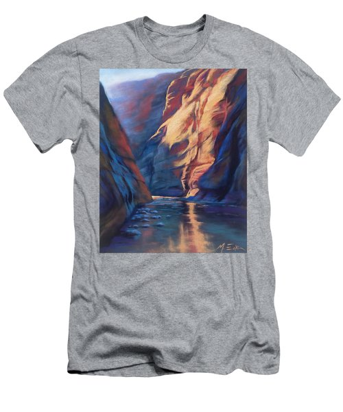 Deep In The Canyon Men's T-Shirt (Athletic Fit)