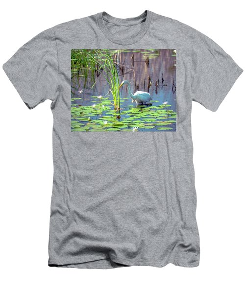 Deep In The Water Men's T-Shirt (Athletic Fit)