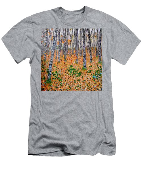 Deep In The Woods- Large Work Men's T-Shirt (Athletic Fit)