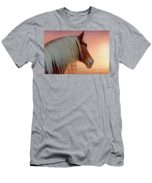 Deep In Thought Men's T-Shirt (Slim Fit) by Tamyra Ayles