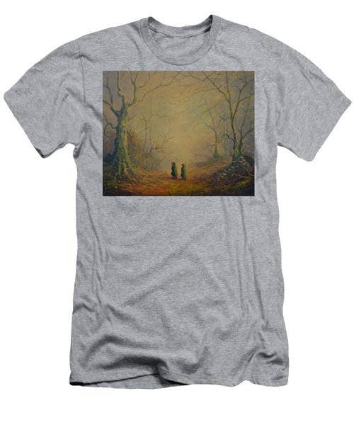 Deep Into The Forest Men's T-Shirt (Athletic Fit)
