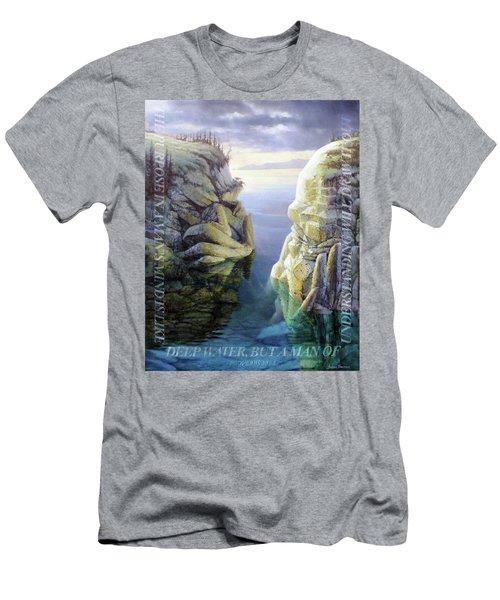 Deep Water Men's T-Shirt (Athletic Fit)