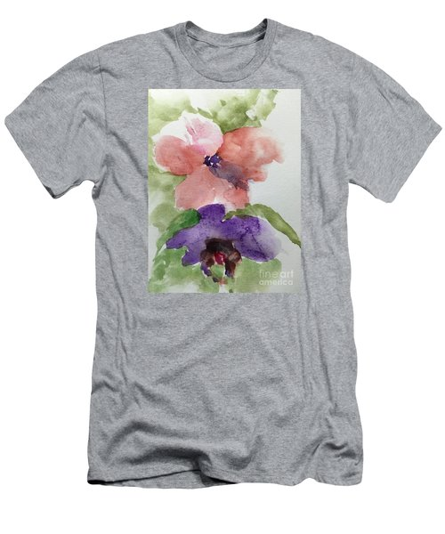 Men's T-Shirt (Slim Fit) featuring the painting Deep Within by Trilby Cole