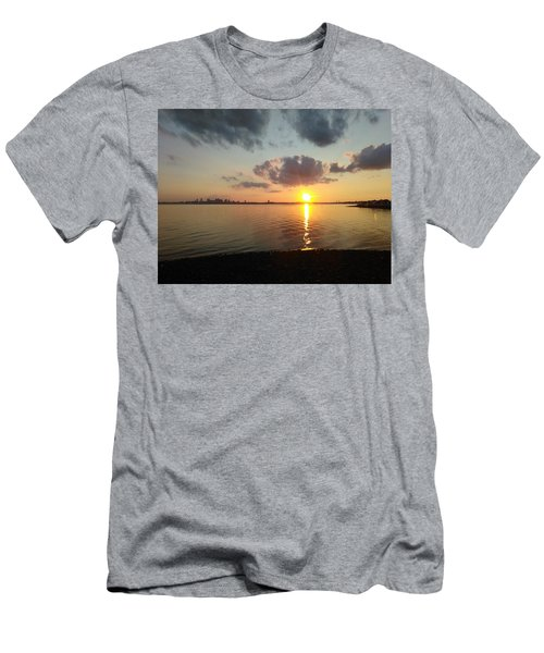 Deer Island Sunset Men's T-Shirt (Athletic Fit)