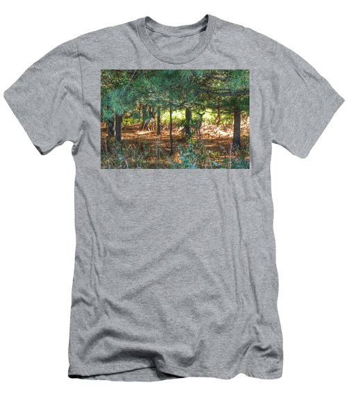 1011 - Deer Of Croswell I Men's T-Shirt (Athletic Fit)