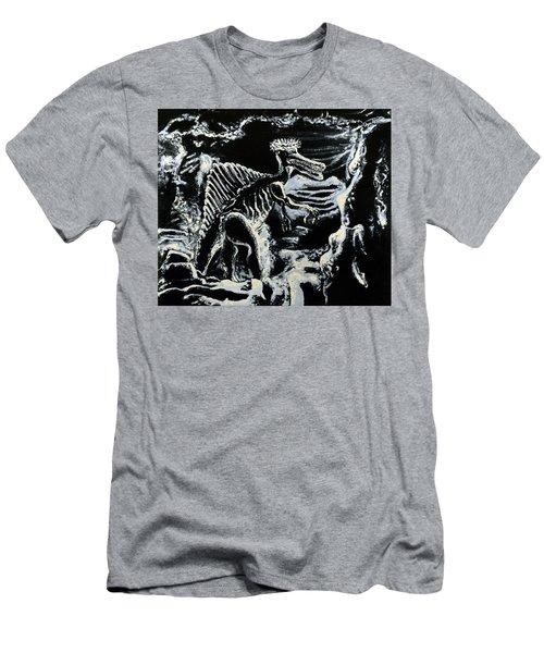 Deinos Sauros    Men's T-Shirt (Slim Fit) by Ryan Demaree