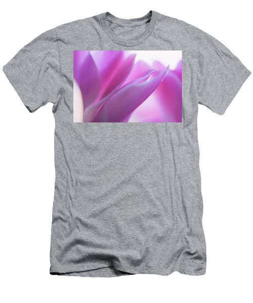 Delicate Beauty Of Cyclamen Flower Men's T-Shirt (Athletic Fit)