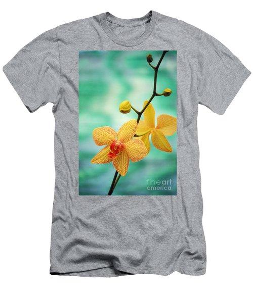 Dendrobium Men's T-Shirt (Athletic Fit)