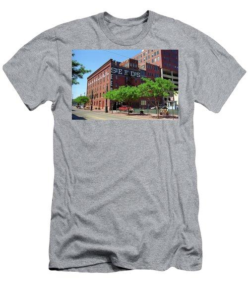 Denver Downtown Warehouse Men's T-Shirt (Slim Fit) by Frank Romeo
