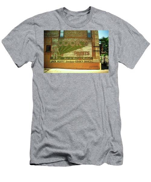 Denver Ghost Mural Men's T-Shirt (Slim Fit) by Frank Romeo
