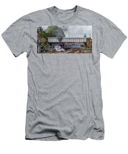 Departing Scarborough Men's T-Shirt (Athletic Fit)