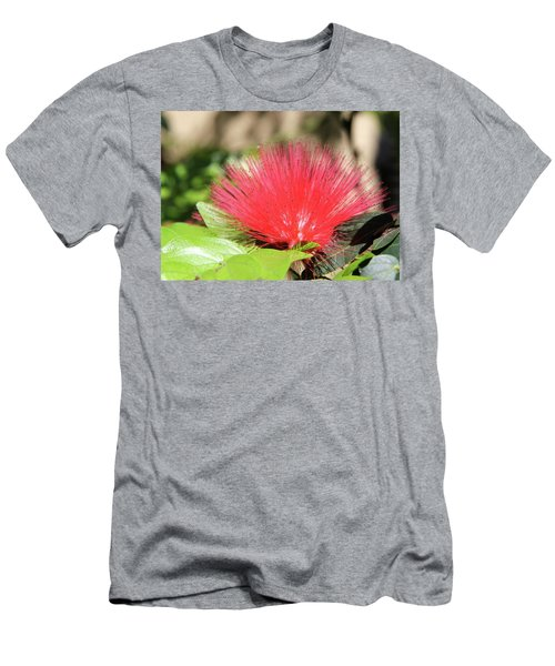 Men's T-Shirt (Slim Fit) featuring the photograph Desert Blossom by Kathy Bassett