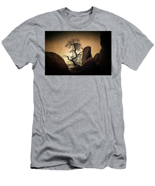Desert Bonsai II Men's T-Shirt (Athletic Fit)