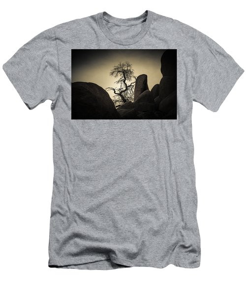 Desert Bonsai Men's T-Shirt (Athletic Fit)