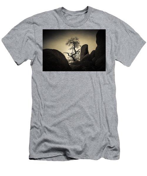 Desert Bonsai Men's T-Shirt (Athletic Fit)