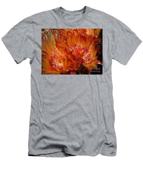 Desert Fire Men's T-Shirt (Slim Fit) by Kathy McClure