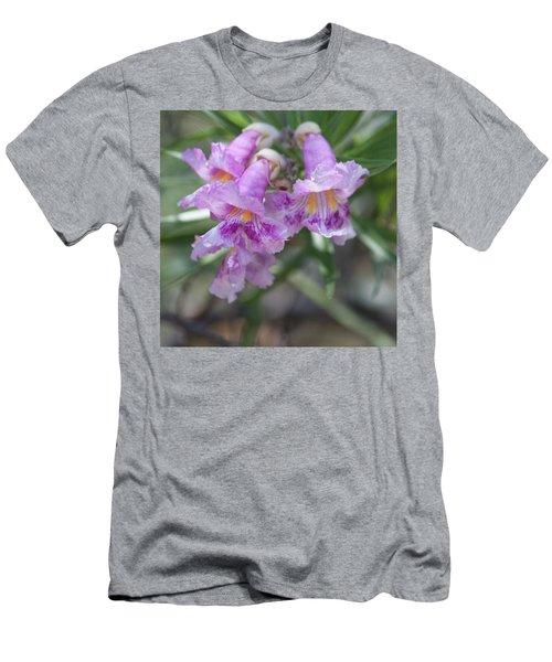 Desert Flowers Men's T-Shirt (Athletic Fit)