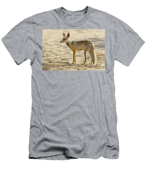 Men's T-Shirt (Slim Fit) featuring the photograph desert Fox 02 by Arik Baltinester