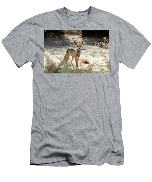 Men's T-Shirt (Slim Fit) featuring the photograph Desert Fox by Arik Baltinester