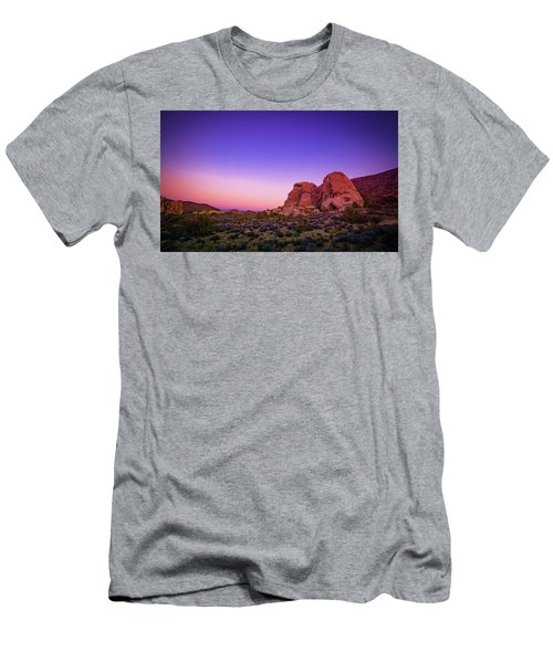 Desert Grape Rock Men's T-Shirt (Athletic Fit)