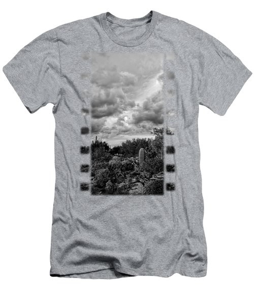 Desert In Clouds V15 Men's T-Shirt (Slim Fit) by Mark Myhaver