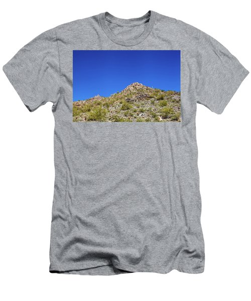 Men's T-Shirt (Slim Fit) featuring the photograph Desert Mountaintop by Ed Cilley