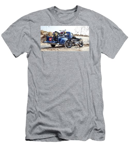 Desert Racing Men's T-Shirt (Slim Fit) by Mark Rogan