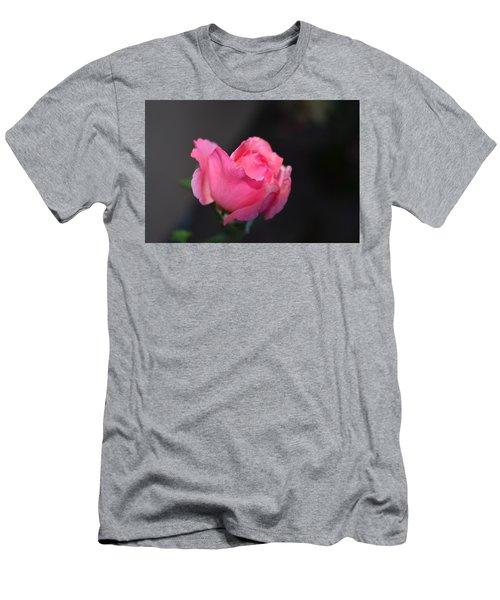 Desert Rose 1 Men's T-Shirt (Athletic Fit)