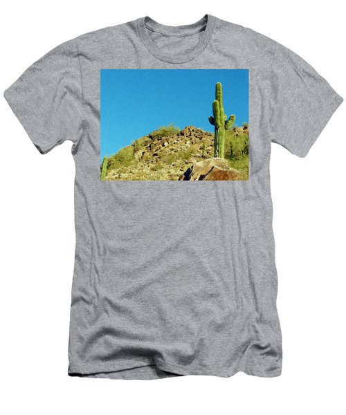 Desert Sky Men's T-Shirt (Athletic Fit)
