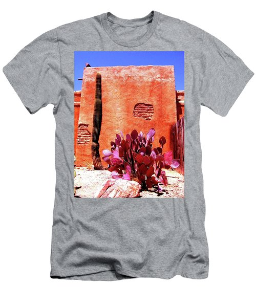 Men's T-Shirt (Athletic Fit) featuring the photograph Desert Solace by Michelle Dallocchio