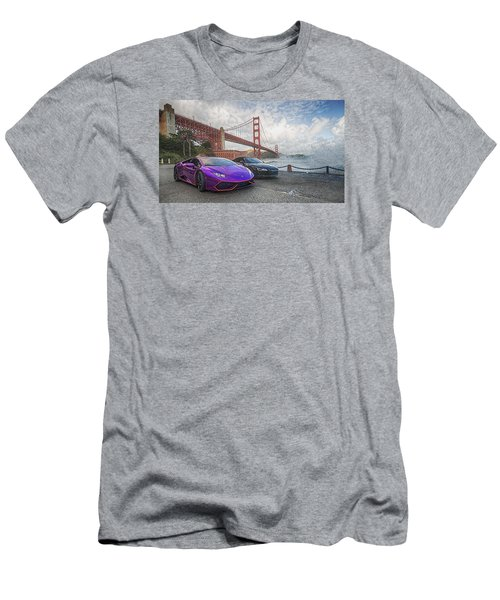 Men's T-Shirt (Athletic Fit) featuring the photograph Desert To Bay Rally 2016 by Steve Siri